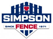 Simpson Fence Company transparent logo