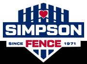 Simpson Fence Company transparent logo