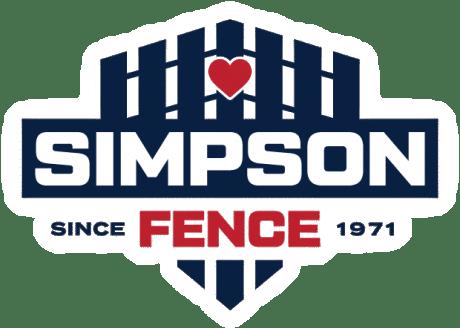 Simpson Fence Company Overlay Logo