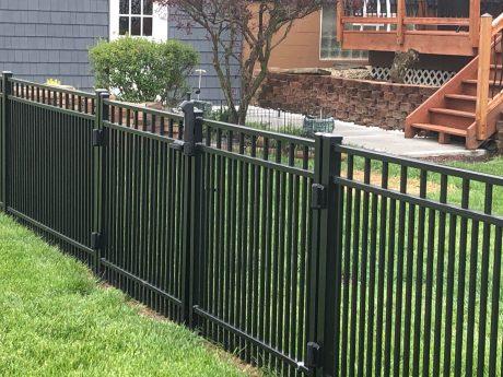 Black Aluminum Fencing